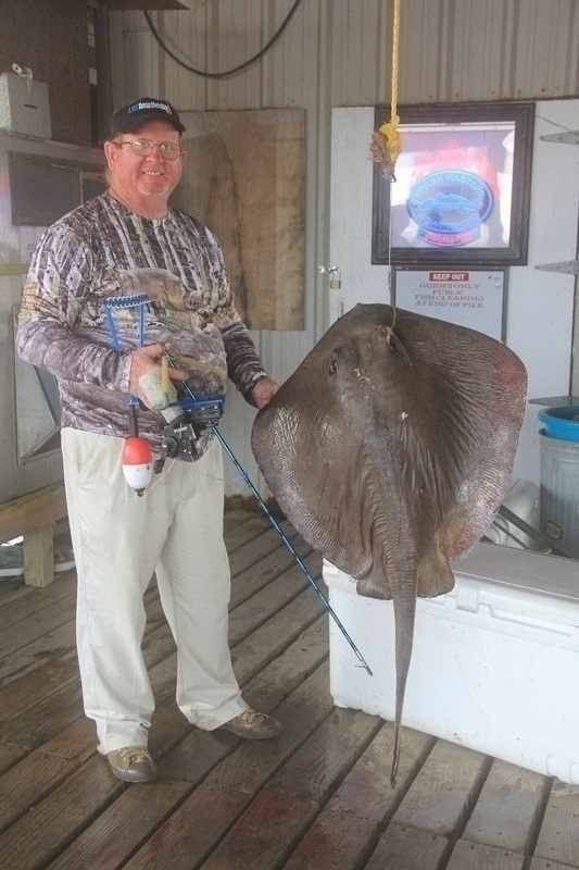 Randy with Slingbow Stingray